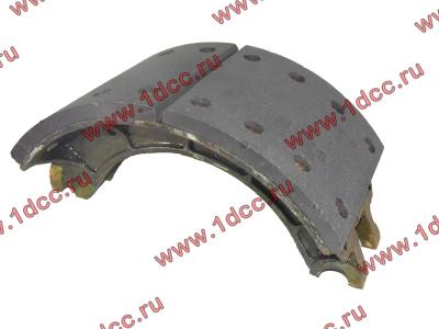 Колодка тормозная задняя с накладками H2/H3 HOWO (ХОВО) WG199000340061 фото 1 Казань