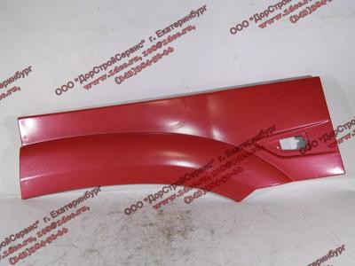 Крыло кабины со спальником красное задняя часть левая (под треугольный повторитель в конце) H3 HOWO (ХОВО) WG1642230107 фото 1 Казань