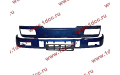 Бампер C синий верхний+нижний (в сборе) фото Казань