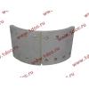 Колодка тормозная задняя с накладками H2/H3 HOWO (ХОВО) WG199000340061 фото 2 Казань