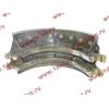 Колодка тормозная задняя с накладками H2/H3 HOWO (ХОВО) WG199000340061 фото 3 Казань